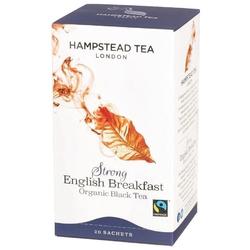 Hampstead | strong english breakfast - herbata czarna saszetki 50g | organic - fairtrade