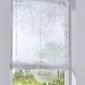 Prześwitująca roleta z nadrukiem bonprix biało-żółto-zielony