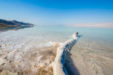 Morze martwe - plakat premium wymiar do wyboru: 40x30 cm