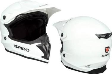 Kask off road ispido hummer kolor biały