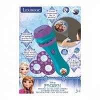 Latarka - projektor frozen kraina lodu lexibook