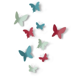 Umbra - dekoracja ścienna - mariposa - multikolor