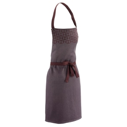 Dwurzędowa żakietowa sukienka z paskiem - beżowa