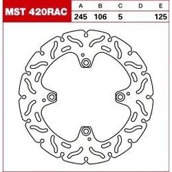 Trw tarcza hamulcowa mst420rac ducati hypermotard