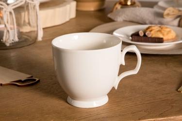 Filiżanka do cappuccino porcelana mariapaula ecru