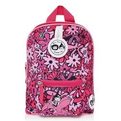 Plecak zipzoe mini ze smyczą - floral pink 1-3lata