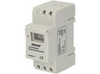 Programator czasowy na szynę DIN ORNO OR-PRE-414 - Szybka dostawa lub możliwość odbioru w 39 miastach