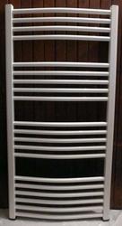 Grzejnik łazienkowy york - wykończenie zaokrąglone, 500x1200, białyral - biały