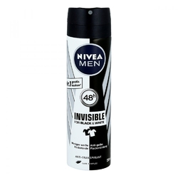 Nivea men deo spray invisible black  white power