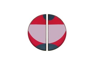 Ethnicraft :: taca dekoracyjna blush curve rozm. s