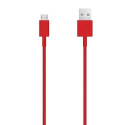 Kabel usb 2.0, usb a  m- usb micro m, 1m, czerwony