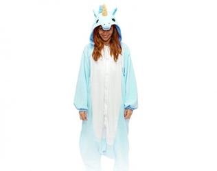 Niebieski pegaz kigurumi onesie dres piżama kombinezon