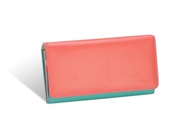 Duży portfel damski valentini colors 272 - różowy