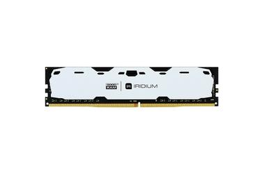 GOODRAM DDR4 IRIDIUM 8GB2400 15-15-15 10248 Biała