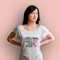 Jeśli mama mówi nie, ciocia powie tak t-shirt damski biały xxl