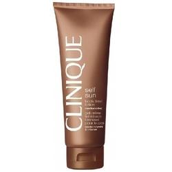 Clinique self sun body tinted lotion lightmedium kosmetyki damskie - samoopalacz do ciała 125ml - lightmedium