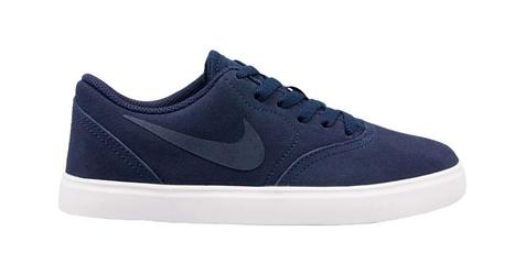 Nike sb check suede gs ar0132-400 38.5 granatowy