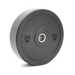 Obciążenie olimpijskie gumowe 20kg mw-bumper-20kg - marbo sport - 20 kg