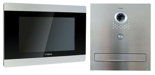 Skrzynka na listy vidos z monitorem m903s551-skm - szybka dostawa lub możliwość odbioru w 39 miastach