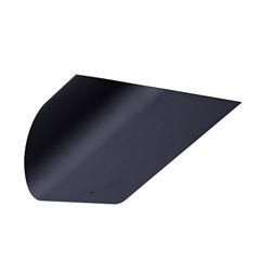 Lampa wewnętrzna kinkiet luxe czarna