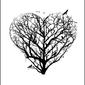 Serce - plakat wymiar do wyboru: 42x59,4 cm