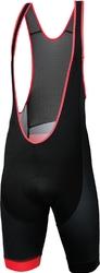 Spodenki z szelkami kross pave black-red
