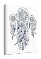 Dreamcatcher silver - obraz na płótnie