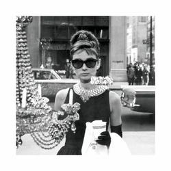 Audrey Hepburn Window - reprodukcja