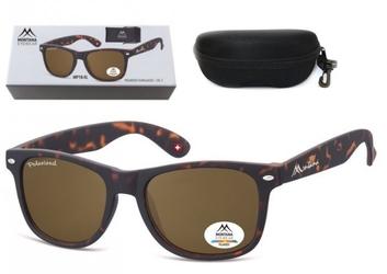 Duże klasyczne okulary polaryzacyjne nerdy montana boxmp1b-xl + pudełko