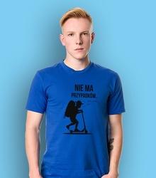 Chłopczyk - nie ma przypadków t-shirt męski niebieski l