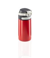 Kubek termiczny flip 350 ml, czerwony