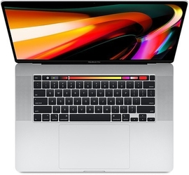 Apple macbook pro 16 touch bar: 2.3ghz i916gb1tbrp5500m - silver