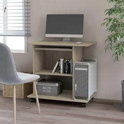 Vidaxl biurko komputerowe, dąb sonoma, 80x50x75 cm, płyta wiórowa