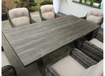 Stół ogrodowy kala brązowy