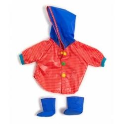 Ubranko dla lalki 40 cm kurtka deszczowa i buty