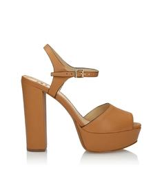 Jasnobrązowe sandały