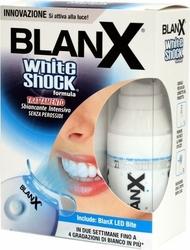 Blanx white shock wybielająca pasta do zębów 30ml + duża nasadka led