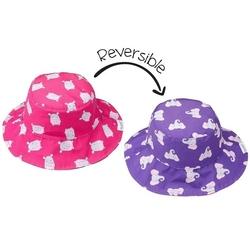Dwustronny kapelusz flapjack - s - hipopotamsłoń