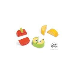 Owoce i warzywa do nauki krojenia