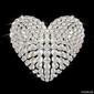 Fotoboard na płycie serce diamentu