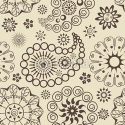 Naklejka samoprzylepna wzór paisley