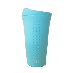 kubek podróżny silikonowy gosili - blue