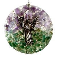 Orgonit - archanioł rafael, awenturyn, ametyst wisior