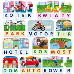 Zabawa i Edukacja - Puzzle Miasto
