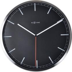 Zegar ścienny company 35 cm czarny