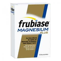 Frubiase magnesium plus tabletki musujące