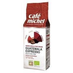 Cafe michel | gwatemala espresso kawa mielona 250g | organic - fair trade