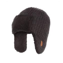 Zimowa czapka męska uszatka brodrene cz5 ciemnoszara