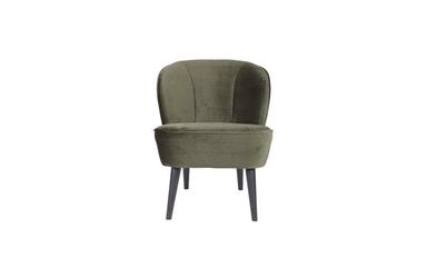 Woood :: fotel tapicerowany sara zielony