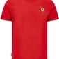 Koszulka scuderia ferrari f1 small shield czerwona - czerwony